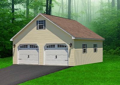 Garage models for Cheap 2 car garage kits